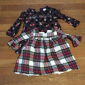 EEUC 2 Tunics size 12-18 months